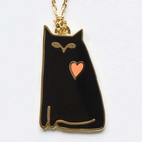 Stylish DIY Feline Accessories - Yellow Owl Workshop Launched Its New Kitty-Themed Products