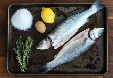 Salt Baked Branzino - A Salted Baked Fish Recipe Leaves the Filet Fresh and Tender
