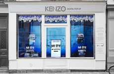 Interactive Pop-Up Aquariums - Kenzo Creates an Aquarium to Highlight the Harms of Overfishing