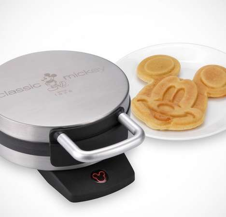 Disney-Inspired Waffle Makers - Make Some Mickey Waffles with This Disney-Inspired Kitchen Appliance