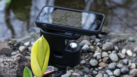 Powerful Mini Microscopes - The MicrobeScope is a Portable Microscope That Plays Well with iPhones