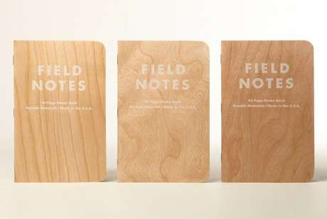 Mimalist Rustic Notebooks - Field Notes' Spring Notebooks Have Arrived
