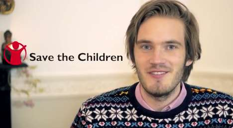 Charitable YouTuber Campaigns - PewDiePie