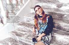 Glam Printed Fashion Editorials
