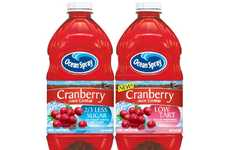Party Size Health Drinks - The Ocean Spray Cranberry Cocktail Packs More Punch Than Ever