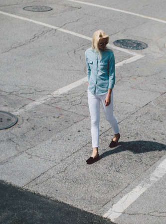 Gender-Advancing Denim Collections - Baldwin Denim is Debuting its First Women