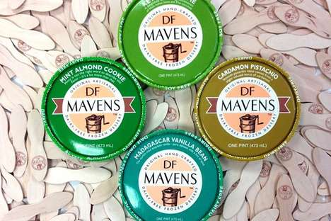 Indulgently Healthy Ice Creams - DF Mavens is Offering Delicious Dairy-Free Ice Cream Treats