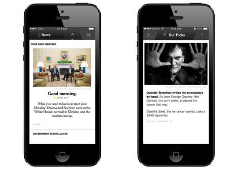 Curated Newspaper Apps -
