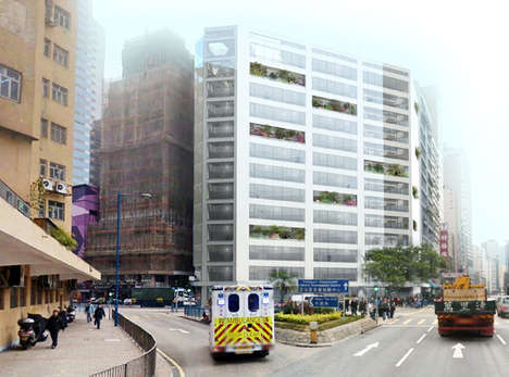Revamped Warehouse Architecture - MVRDV Updates the Cheung Fai Building in Hong Kong