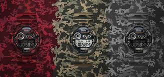 Captivating Camouflage Range Timepieces