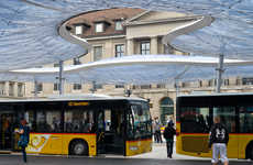 Air-Filled Bus Canopies
