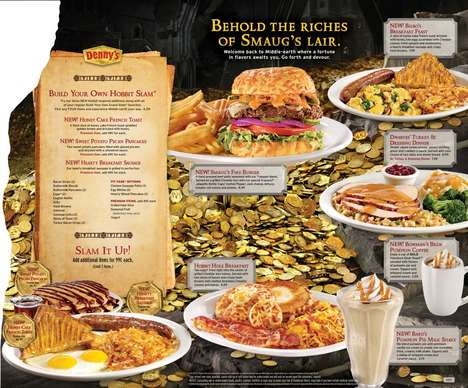 Middle Earth-Inspired Menus - Denny's Hobbit Menu is Delicious and Creative
