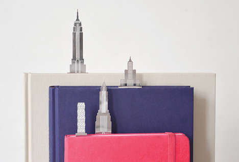 Iconic Landmark Page Markers - Another Studio City Clips Put Architectural Wonders in Your Pages