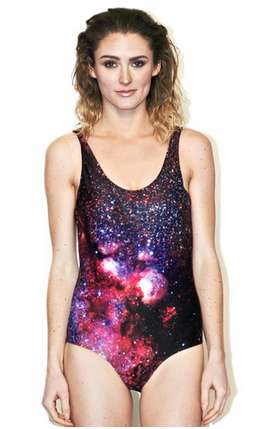 Intergalactic Swimsuit Collections - Shadowplaynyc Presents Intergalactic Space-Themed Swimsuits