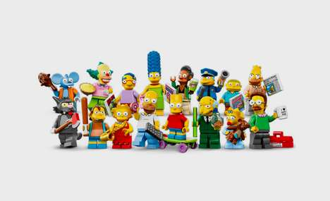 Iconic Cartoon LEGO Collections - The Official LEGO Simpsons Minifigures are Finally Here
