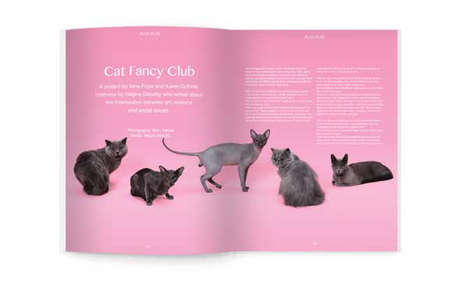 Fashionable Feline Periodicals - Puss Puss Cat Magazine Elevates the Pet-Owner Relationship