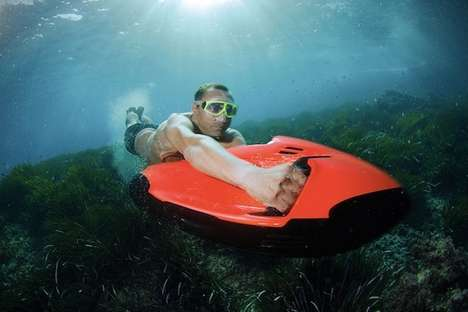 Subversive Mini Cruisers - The Seabob Cayago F7 is a Mini Jet Ski That Works Underwater