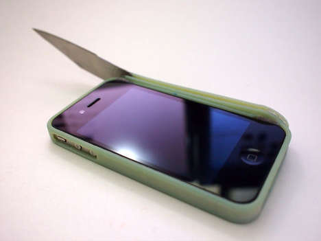 Swiss Army Phone Cases - The iStab Lets You Cut Things with Your iPhone