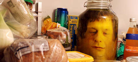 Pickled Head Pranks - This Bone-Chilling Prank Will Protect your Refrigerator on April Fool