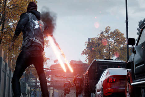 Eye-Controlled Video Games - Infamous: Second Son from Sony Uses Eye Movement to Guide the Game