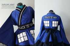 Geeky Japenese-Inspired Gowns