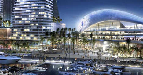 Player-Funded Sports Stadiums - David Beckham Unveils His Design for a Miami Seafront Stadium