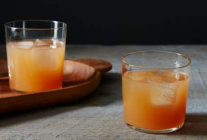 Autumn Citrus Cocktails - This Gin Hound Beverage Recipe is Perfect for Fall Weather