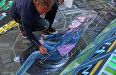 Gamer Chalk Art