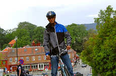 Cyclist Road Elevators - 'Trampe CycloCable' is a Road Elevator to Help Anyone on Wheels