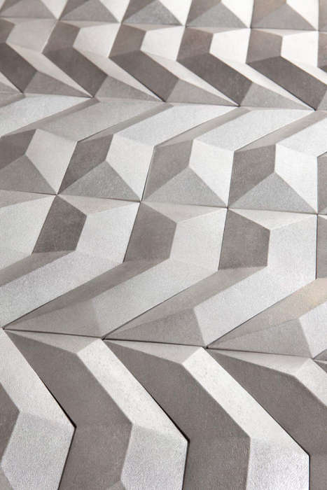 DNA-Inspired Wall Decors - GEN Geometric Wallpaper is Inspired by DNA in Nature