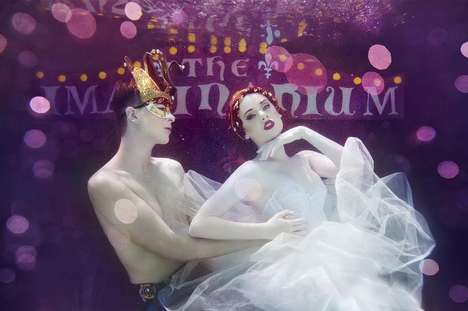 Submerged Carnival-Like Photoshoots - The Imaginarium by Beth Mitchell is an Underwater Wonderland