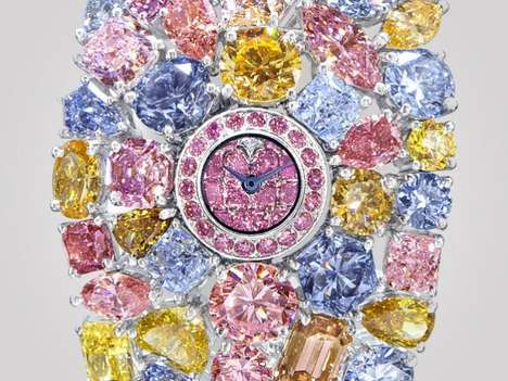 Artistically Luxurious Timepieces - Graff Diamonds Unveils the World