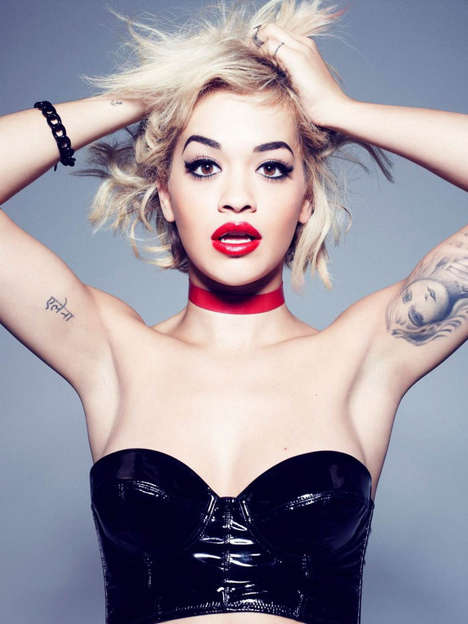 Pop Art-Inspired Cosmetics - The New Rita Ora and Rimmel London Cosmetics Line is Fierce