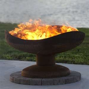 Dune-Like Fire Pits - This Sand Dune Fire Pit Brings a Desert Touch to Bonfires