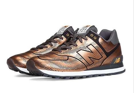 Shimmery Scaled Sneakers - The Latest New Balance 574s are Designed Like Tropical Fish