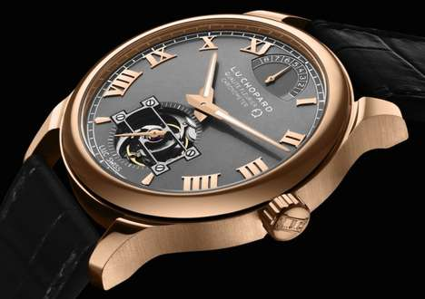 Ethical Gold Watches - The Fairmined Watch by Chopard is the First Watch Made From Fair Gold