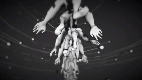 Body-Contorting Artistic Videos - 'The Motion Paradox' is a Kaleidoscope of Human Bodies