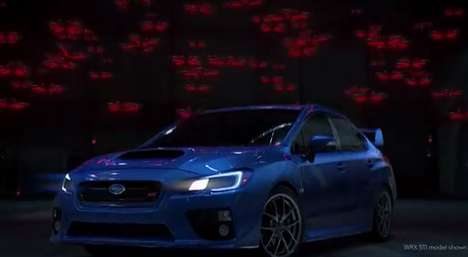 Drone Helicopter-Powered Vehicles - The 2015 Subaru WRX is Powered by Drone Helicopters