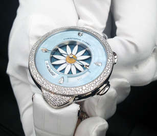 Luxury Floral Timepieces - This Christophe Claret Margot Watch Was Designed Exclusively for Women