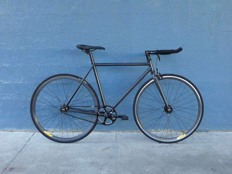 Retro-Reflective Bikes - Lumen is a Bicycle with a Frame that Glows at Night for Added Visibility