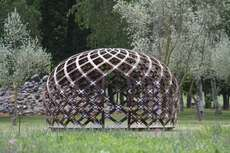 20 Latticed Structures - From Woven Timber Museums to Bamboo Canopies