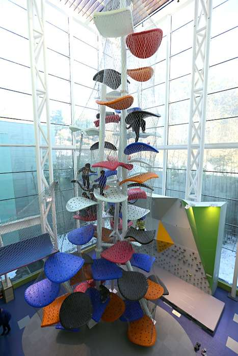 Modernized Jungle Gym Towers -