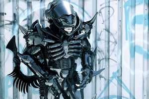 This Peter Kokis 'Brooklyn Alien' is Terrifyingly Awesome