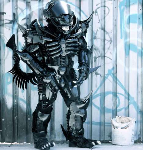 Impressive Homemade Alien Costumes - This Peter Kokis