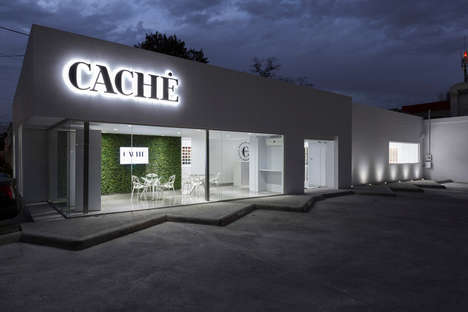 Tactile-Focused Showrooms - Factor:Recurso Designs the Caché Architectural Coverings