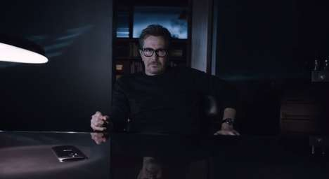 Web Search Phone Ads - Gary Oldman Challenges You to Ask the Internet About the HTC One M8