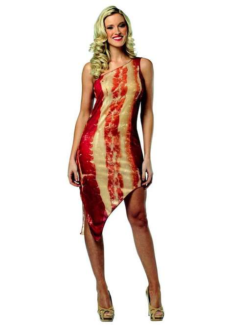 13 Wacky Wearable Meats - These Beefy Essembles Honor Lady GaGa