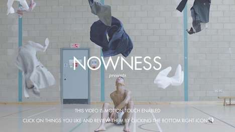 Artfully Shoppable Videos - Mine All Mine by the NOWNESS Lets Consumers Shop In-Video