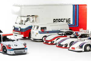 Malete Dorowski Built a Detailed LEGO Porsche Collection