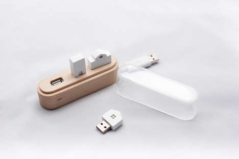 Architecture-Inspired USB Drives - Maison by Suhyun Yoo is Likened to Another Little World for Users